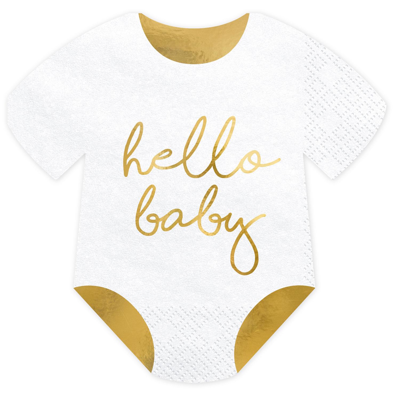 Servetter Hello Baby