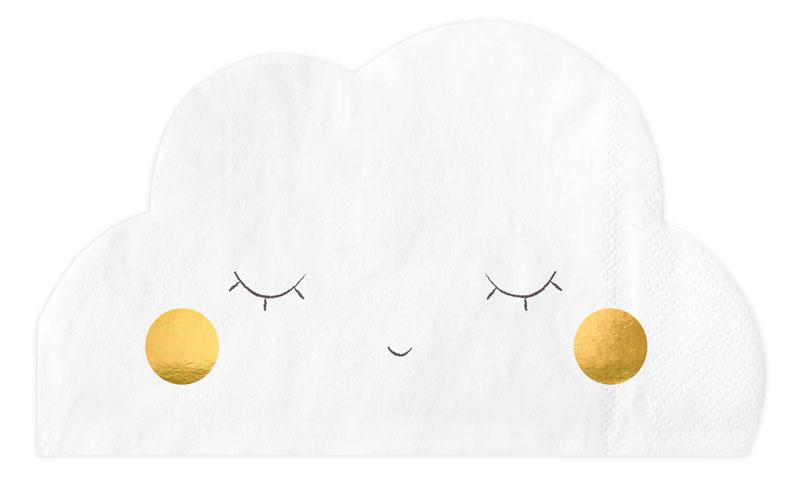 Servett Sovande moln