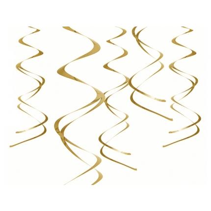 Swirls Guld