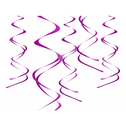 Swirls Lila