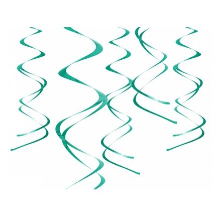 Swirls Mintgrön