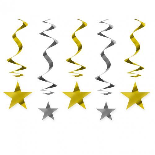 SWIRLS STARS 60 CM 1ST