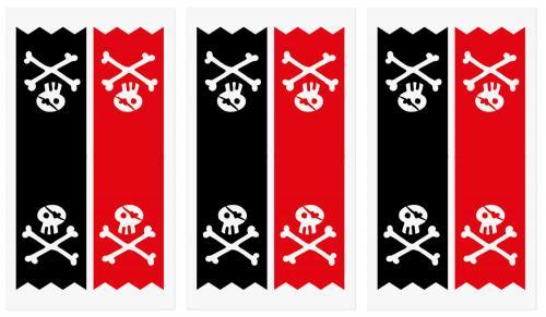 Kalaspåsar Pirat