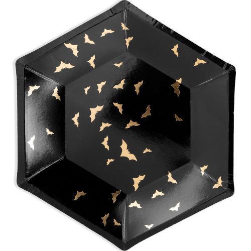 Papperstallrik Fladdermöss