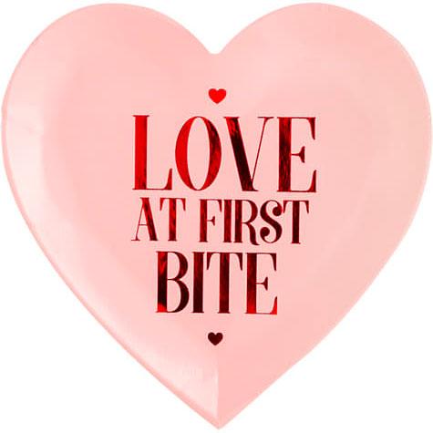 Love At First Bite Tallrikar