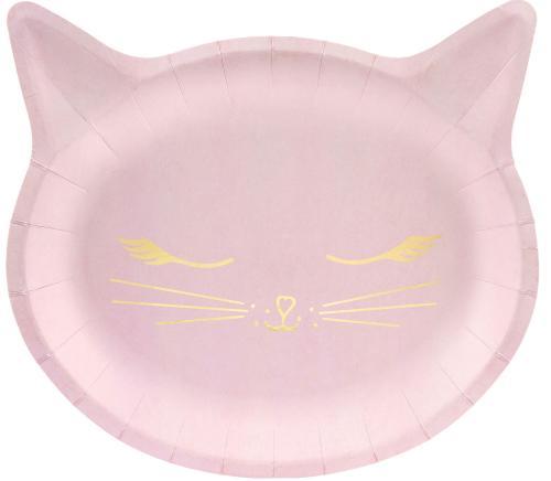 Papperstallrik Katt