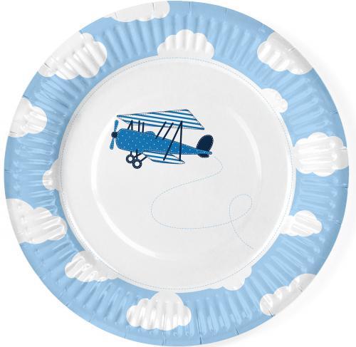 Papperstallrikar Little Plane