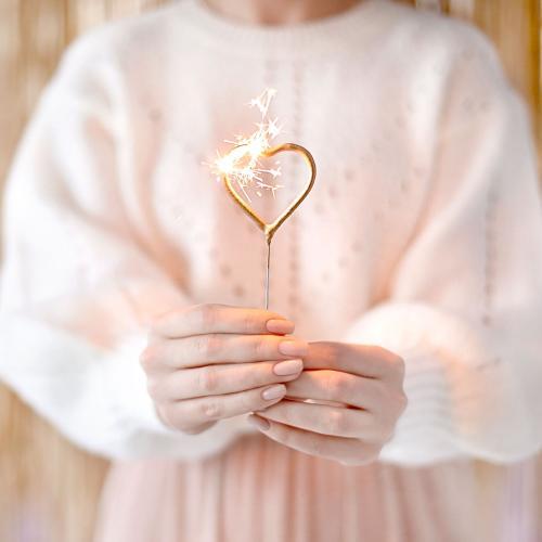 Sparkling hjärtan