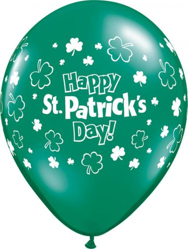 "11"" (28 cm) Happy St. Patricks Day"