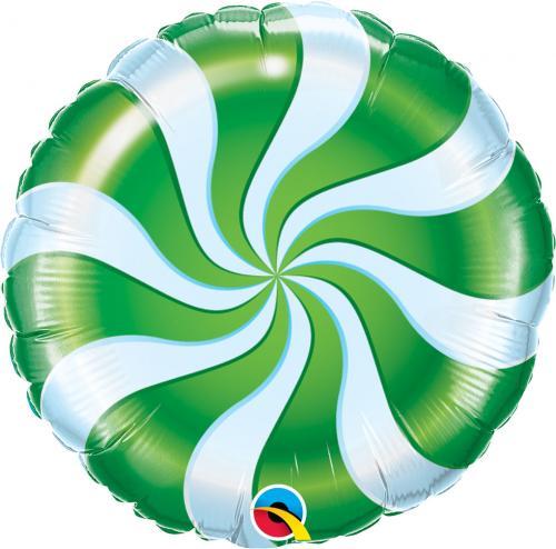 "18"" (46 cm) Grön Godisballong"