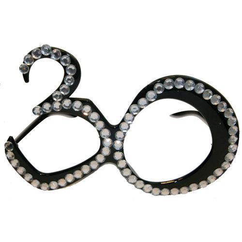 Glasögon Svarta 30 år