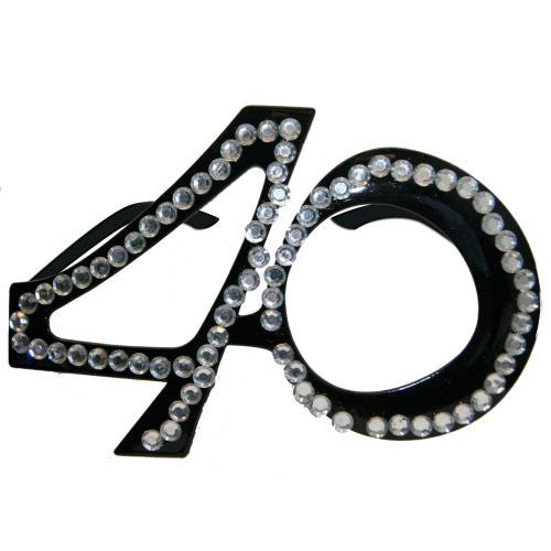 Glasögon Svarta 40 år