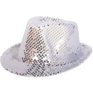 Tribly Hat Silver sequins deluxe