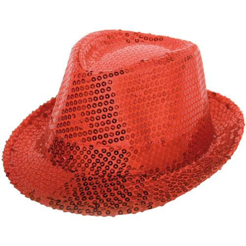 Tribly Hat red sequins deluxe