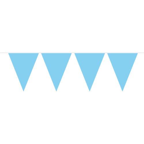 Flaggspel Ljusblå