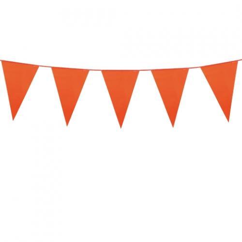 Flaggspel Utom- och inomhus Orange