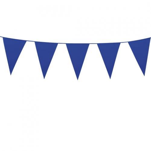 Flaggspel Utom- och inomhus Mörkblå