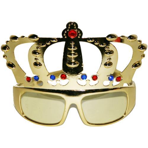 Glasögon med krona