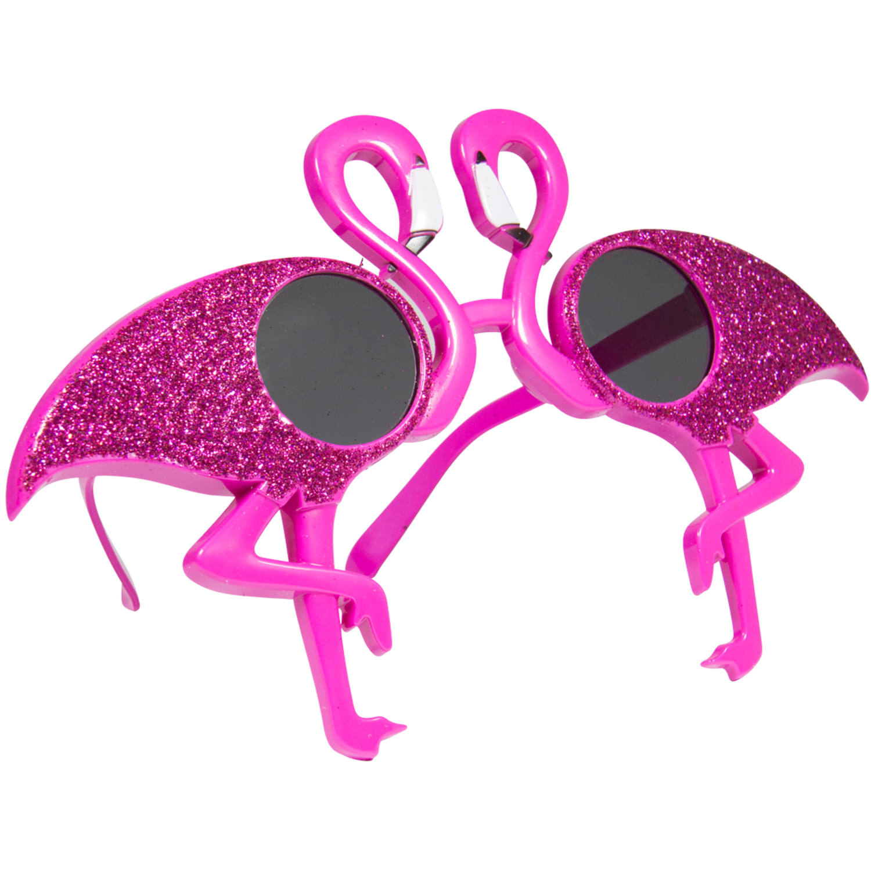 Rosa Glasögon med Flamingo
