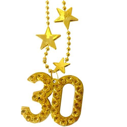 Guldhalsband 30