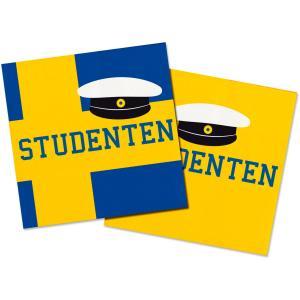 Servetter Studenten 20-pack