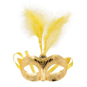 Venetiansk mask guld