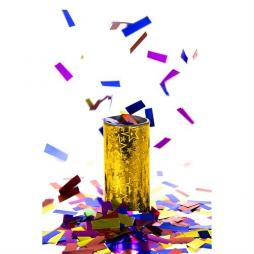 Foliekonfetti Bordsbomb Guld