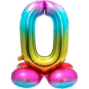 """32"""" (81 cm) Folieballong med stöd #0"""
