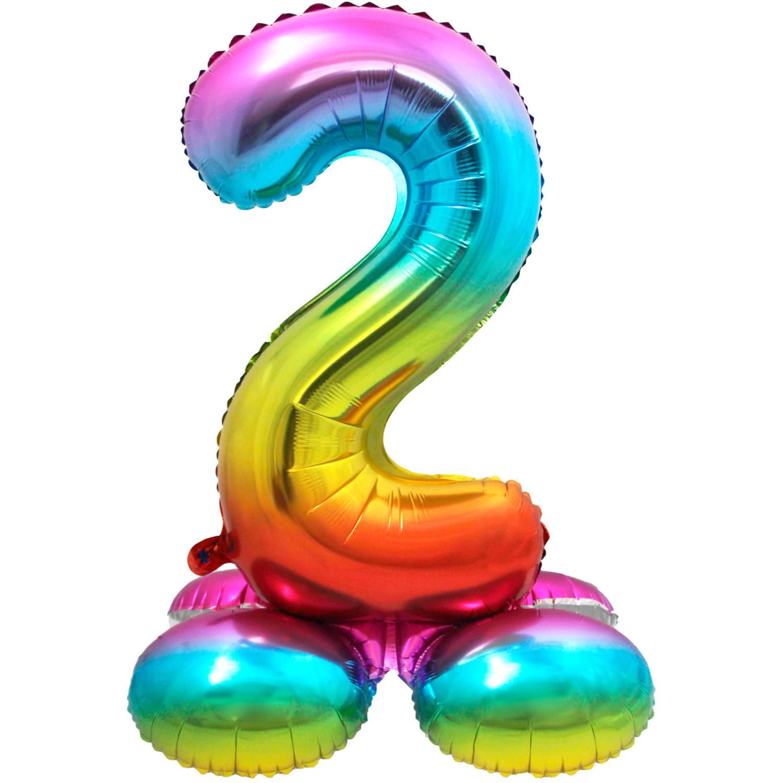 """32"""" (81 cm) Folieballong med stöd #2"""
