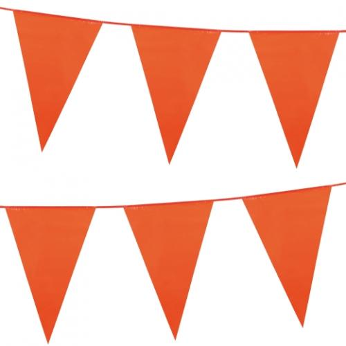 Stor flaggirlang orange