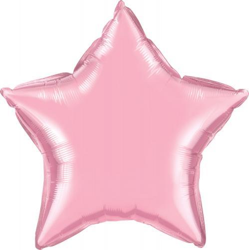 """36"""" (90 cm) Stjärna Pärlemo Ljusrosa"""