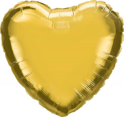 "36"" (90 cm) Hjärta Guld"