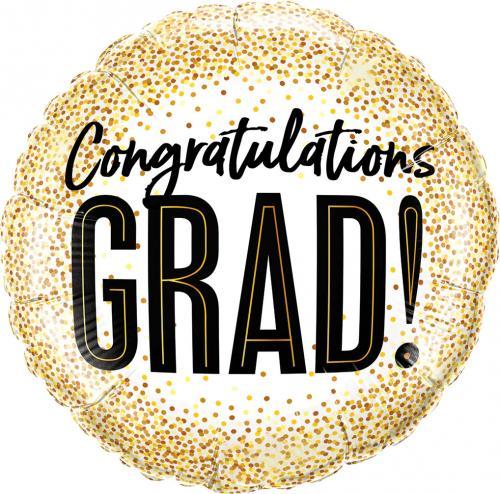 """18"""" (46 cm) Congratulations Grad!"""