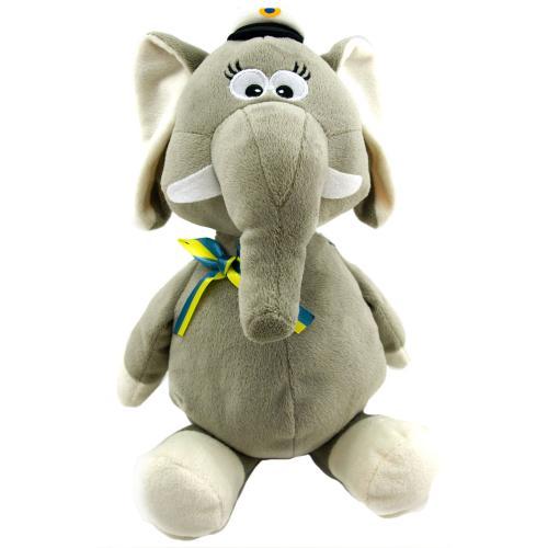 Elefant student hängande grå 34 cm
