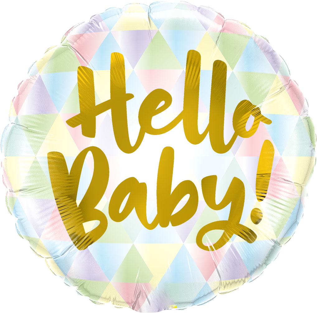 """18"""" (46 cm) Hello Baby!"""