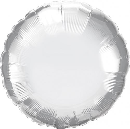 "18"" (46 cm) Rund Chrome Silver"