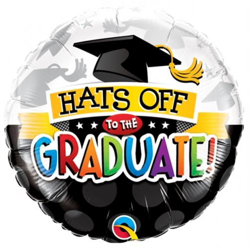 """18"""" (46 cm) Hats Off To The Graduate!"""