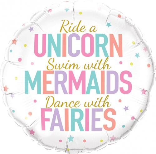 "18"" (46 cm) Unicorn/Mermaids/Fairies"