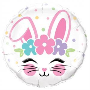 """18"""" (46 cm) Bunny Face"""