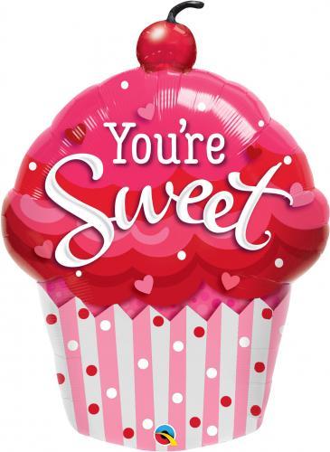 "35"" (89 cm) You're Sweet Cupcake"