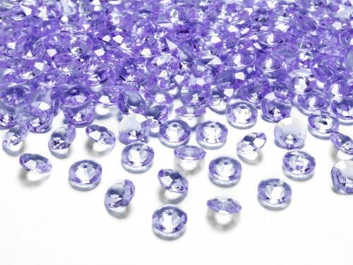 Kristalldiamanter Lila