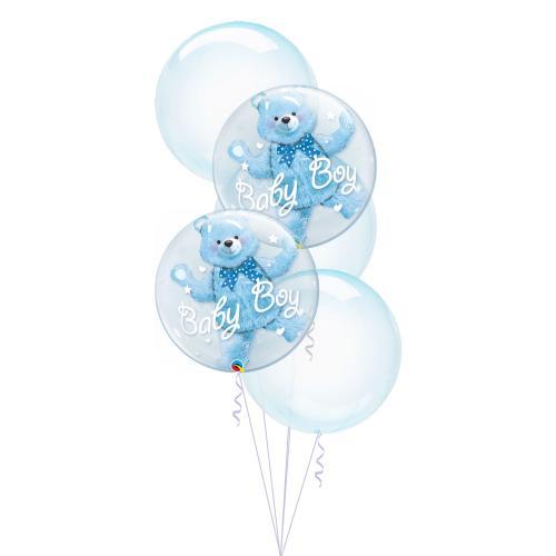 Bubbly Baby Blå