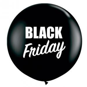 80 cm Black Friday Heliumfylld