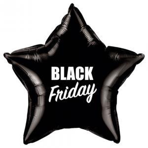 """20"""" (48 cm) Stjärna - Black Friday"""