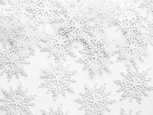 Konfetti Snöflingor