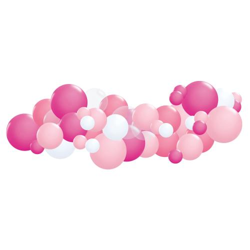 Organisk ballonggirlang