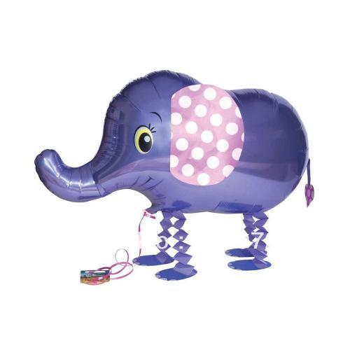 """18"""" (46 cm) Gående Elefant"""