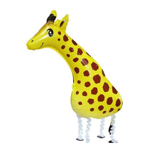 """28"""" (71 cm) Gående Giraff"""