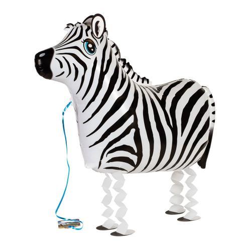 """25"""" (63 cm) Gående Zebra"""