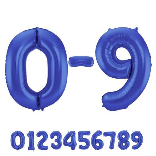 Matte Blue Number 8